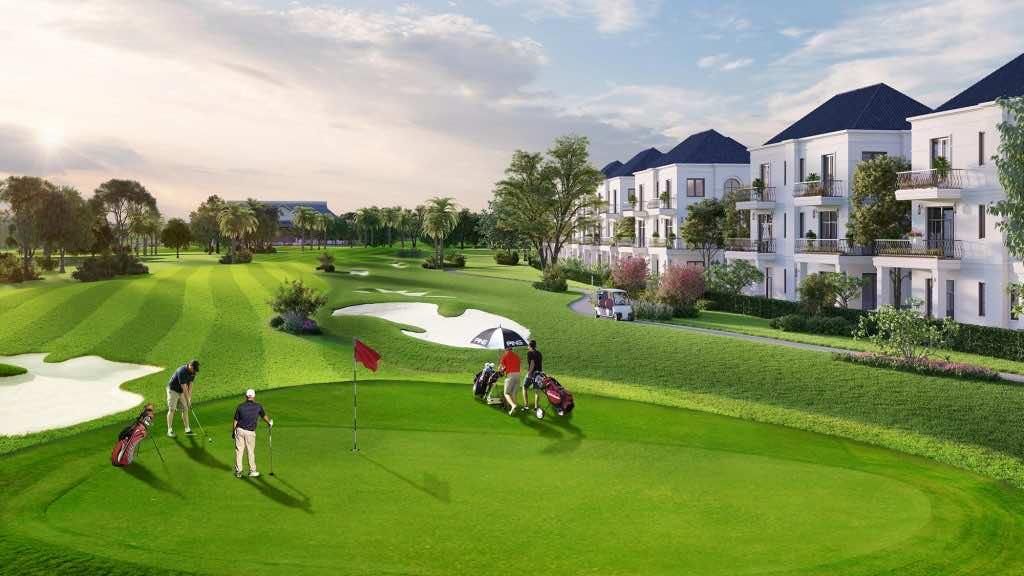 Cỏ nhung nhật được ứng ụng trong xây dựng sân golf